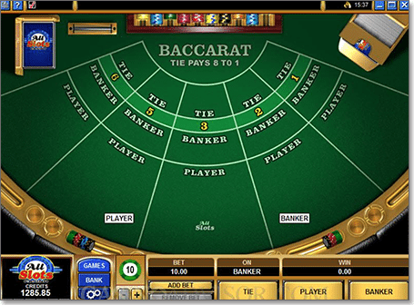 Free Baccarat Online and Real Money Casino Play